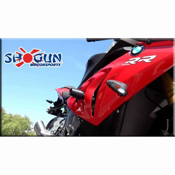 Shogun Frame Sliders - Black - 12-14 S1000RR No Cut