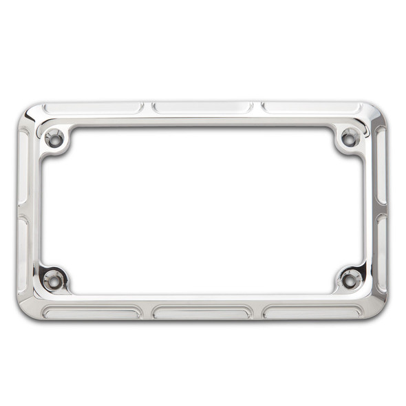 Arlen Ness Beveled License Plate Frame