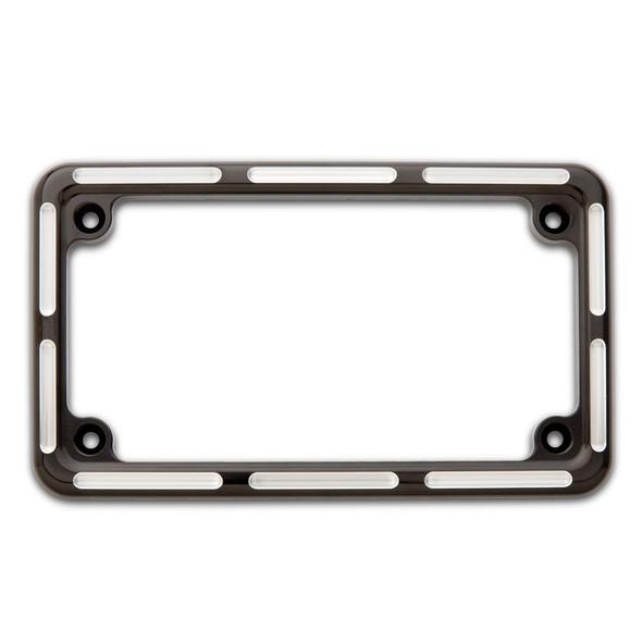 Arlen Ness Slot Track License Plate Frame