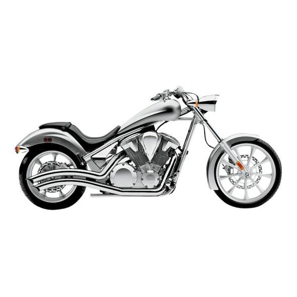 Cobra Speedster Swept Full Exhaust - 2010+ Fury,Sabre,Stateline 1300