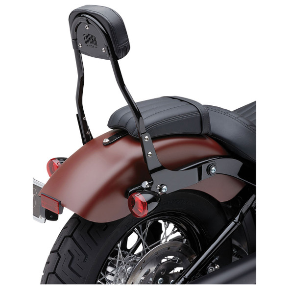 Cobra Round Detachable Backrest - 18-20 Softail Models