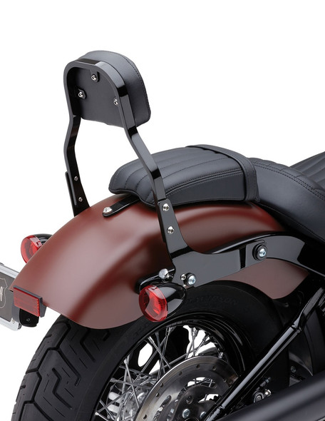 Cobra Square Mini Detachable Backrest - 18-20 Softail Models