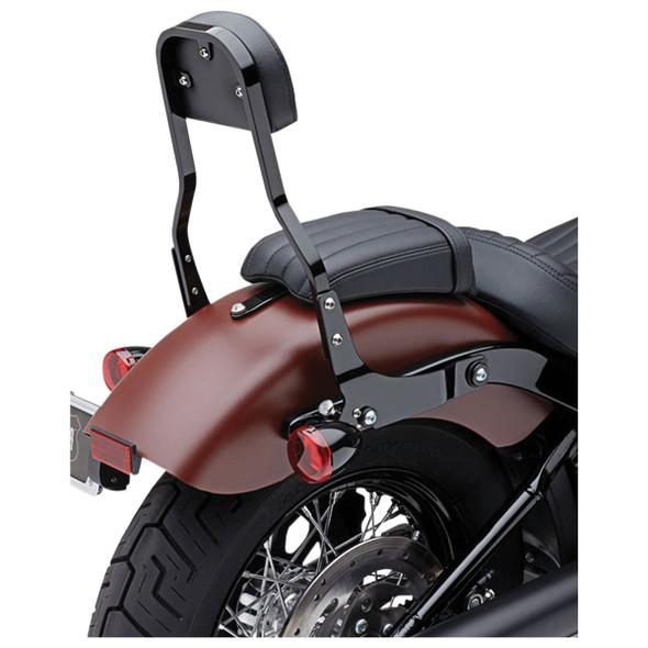 Cobra Square Short Detachable Backrest - 18-20 Softail Models