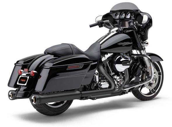 """Cobra 4"""" Neighbor Hater Slip-on Exhaust: 17-20 Touring Models"""