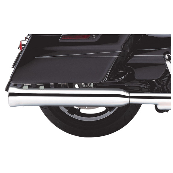 """Cobra 4"""" Neighbor Hater Slip-On Exhaust: 95-16 Touring Models"""