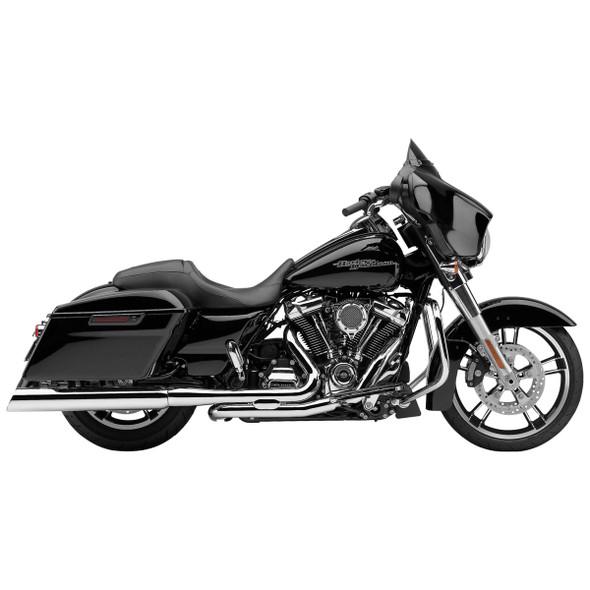 "Cobra 4"" 909 Uppercut Slip-On Exhaust: 95-16 Touring Models"