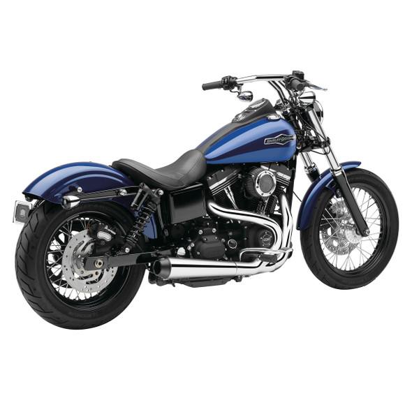 Cobra El Diablo 2-into-1 Full Exhaust: 12-17 Dyna Models