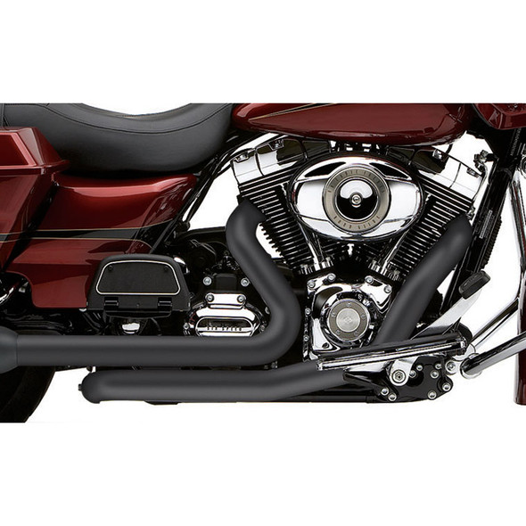 "Cobra 1-3/4"" PowerPort Dual Head Pipes: 09-16 Touring Models"