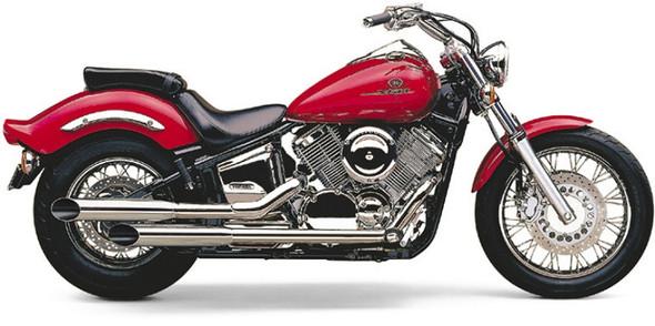 """Cobra 3-1/2"""" Classic Deluxe Slashcut Full Exhaust: 99-11 V Star 1100 Models"""
