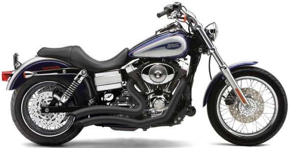Cobra Speedster Short Swept Full Exhaust: 12-17 Dyna Models