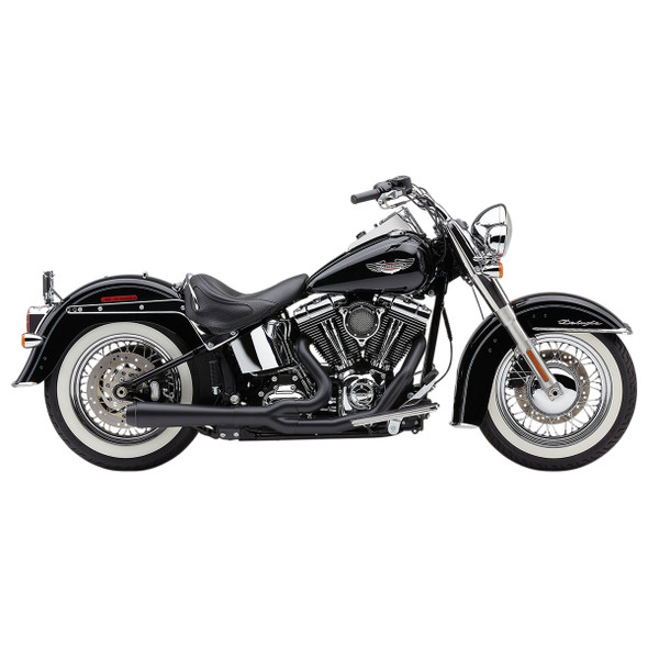Cobra El Diablo 2-into-1 Full Exhaust: 12-17 Softail Models