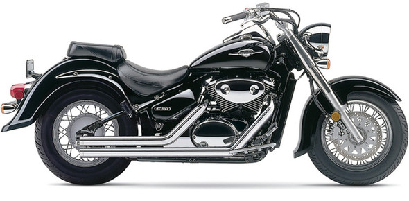 "Cobra 2-1/4"" Streetrod Full Exhaust: 05-19 Boulevard Models"
