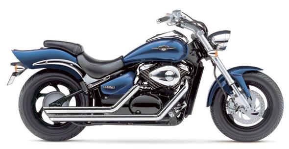 """Cobra 2-1/4"""" Streetrod Slashdown Full Exhaust: 2009 Boulevard Models"""