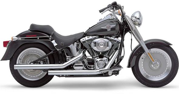 """Cobra 2-1/4"""" Dragster Full Exhaust: 07-11 Softail Models"""