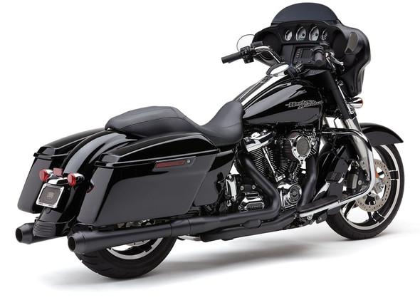 "Cobra 4"" El Diable Slip-On Exhaust: 95-16 Touring Models"