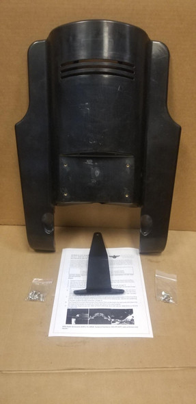 Arlen Ness Down-N-Out Rear Fender Extension: 2009+ FLT Models