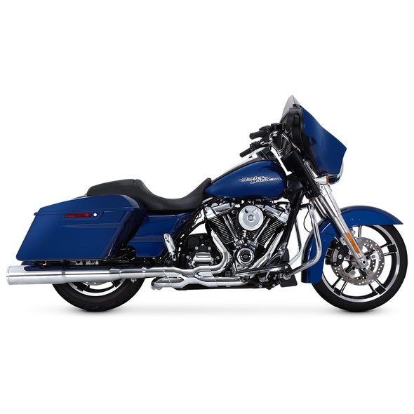 Vance & Hines Hi-Output Slip-On Exhaust: 2017+ HD Touring Models
