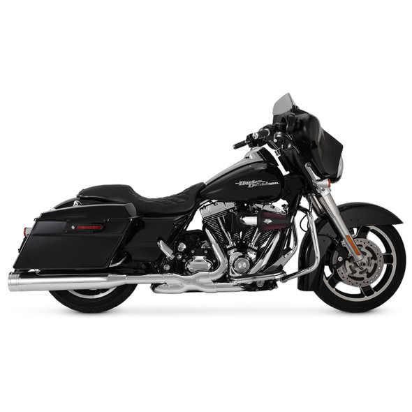 Vance & Hines Destroyer Oversized 450 Slip-On Exhaust: 95-16 Touring Models