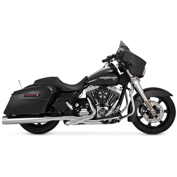 Vance & Hines Titan Oversized 450 Slip-On Exhaust: 2017+ Touring Models