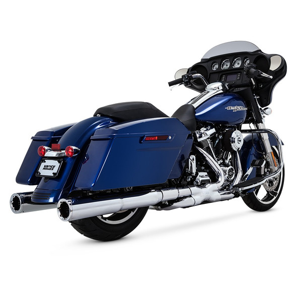 Vance & Hines Power Duals Full Exhaust: 2017+ Touring Models