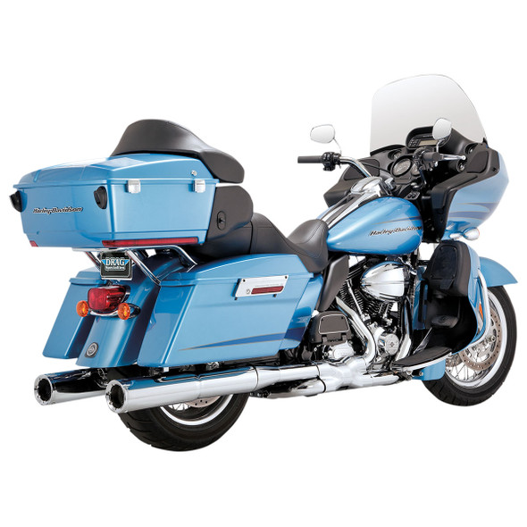 Vance & Hines Power Duals Full Exhaust: 09-16 Touring Models