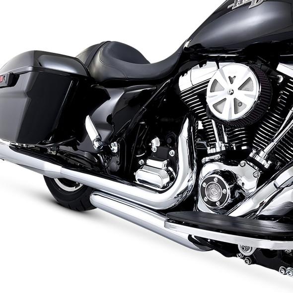 Vance & Hines Dresser Duals Exhaust Headers: 09-16 Touring Models