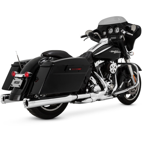 Vance & Hines Dresser Duals Exhaust Headers: 95-16 Touring Models