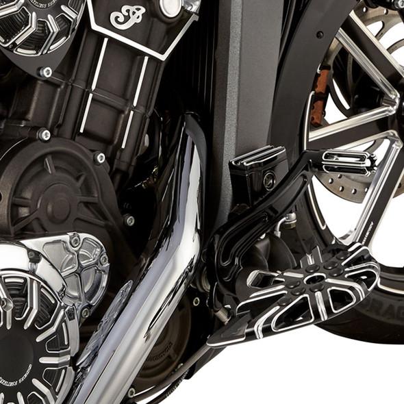 Arlen Ness 10-Gauge Master Cylinder Front and Rear Kit: 2015+ Scout Models