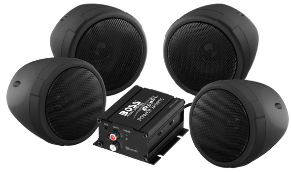 BOSS Bluetooth Handlebar Speakers: MC470