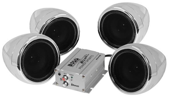 BOSS Bluetooth Handlebar Speakers: MC470