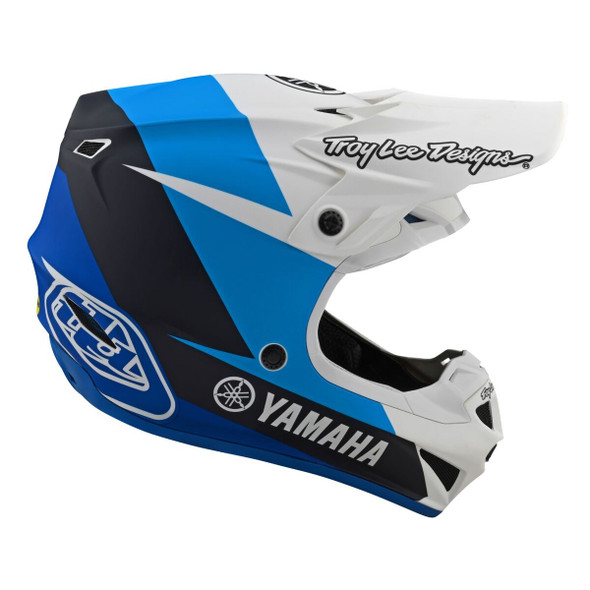 Troy Lee Designs SE4 Polyacrylite Youth Helmet - Yamaha L4