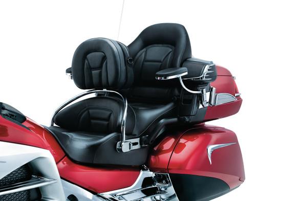 Kuryakyn Revolution Driver Backrest: 12-17 Honda Goldwing GL1800 Models