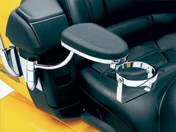 Kuryakyn Passenger Armrests: 01-17 Honda Gold Wing GL1800 Models