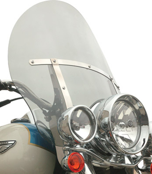 Klock Werks Billboard Flare Windshield: 86-17 HD Softail Models
