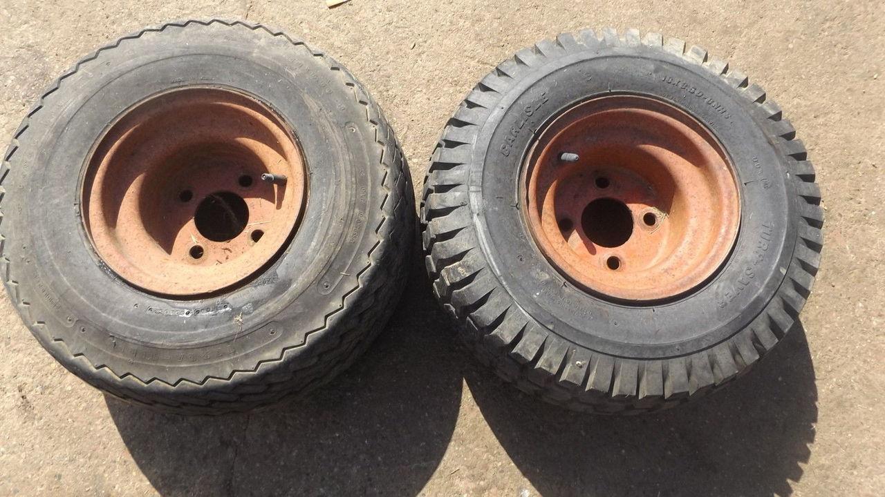 Bolens 1886 HT20 HT23 Front Rims and Tires 18x8 50-8