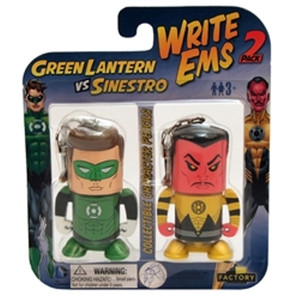 "DC COMICS ""GREEN LANTERN VS SINESTRO"" WriteEms Pencil"