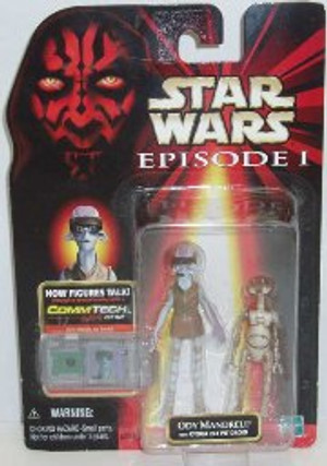 """STAR WARS """"COMMTECH ODY MANDRELL + OTOGA 222 PIT DROID"""