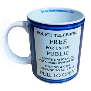 Doctor Who Tardis 11oz coffee Mug