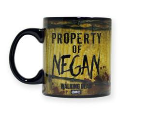 The Walking Dead Property of Negan 20 oz mug