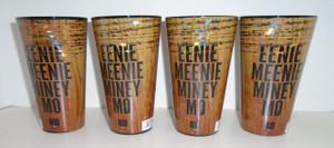 The Walking Dead Eenie Meenie Miney Mo 16 oz pint glass set of 4
