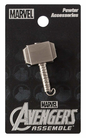 "THOR ""MJOLNIR"" Pewter Lapel pin"
