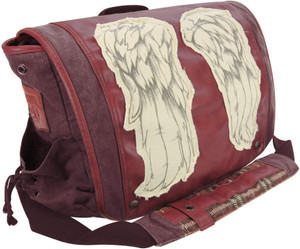 The Walking Dead Daryl Wings Dead Red messenger bag