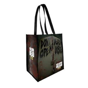 The Walking Dead Don't Open Dead Inside Reusable Shopping Bag