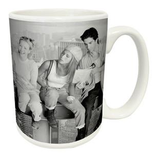 """Friends """"Over New York"""" 12 oz ceramic coffee mug"""