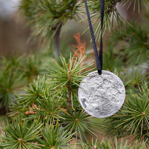 Full Moon Ornament with Moon Tin
