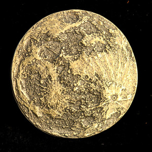 Harvest Moon Coin Solid Brass