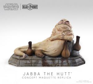 Star Wars Jabba the Hutt Concept Maquette Replica