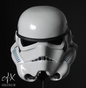 "STAR WARS ""STORMTROOPER HELMET"" EFX Collectibles Full 1:1 scale"