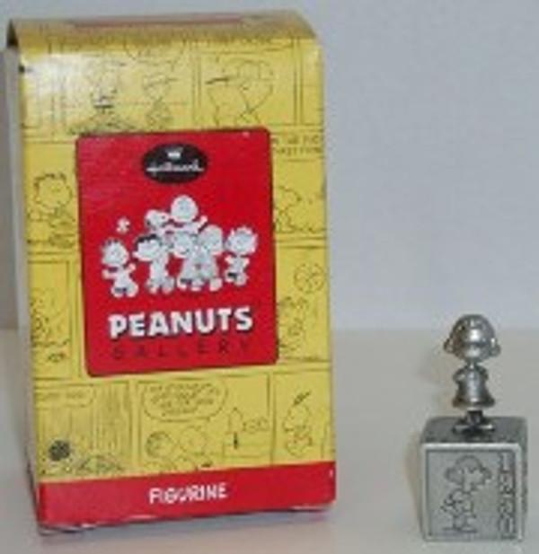 "PEANUTS ""5 DECADES OF LUCY"" Pewter figurine Hallmark"