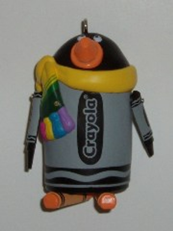 "CRAYOLA ""SUITED FOR THE SEASON"" 2005 HALLMARK ORNAMENT"